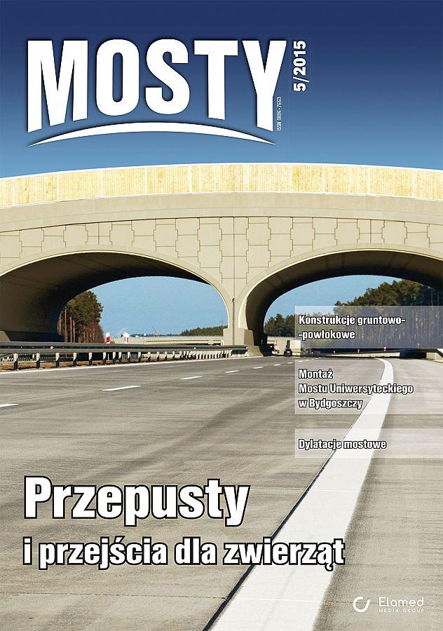 Mosty wydanie nr 5/2015
